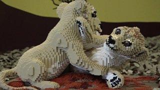 Bâle: des constructions Lego qui laissent sans voix