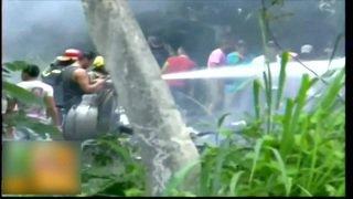 La Havane: un avion s'écrase avec plus de 100 personnes à son bord