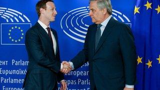 Données volées: Mark Zuckerberg, le patron de Facebook, s'excuse aussi devant le Parlement européen