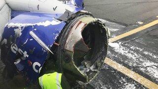 Défaillance d'un moteur d'avion: un mort