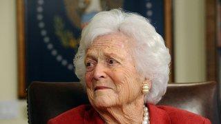 Barbara Bush  n'est plus