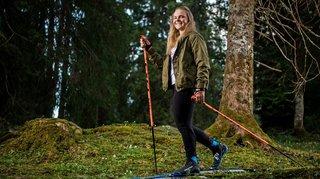 Solène Faivre, espoir national du ski de fond