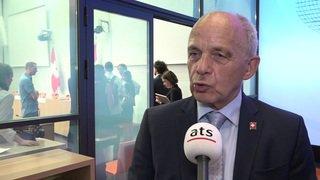 """Sion2026 - Ueli Maurer: """"Le milliard restera dans mon porte-monnaie."""""""