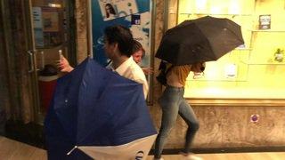 Violent orage sur la Suisse romande