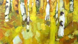 Luc Marelli, un peintre qui fait pleuvoir  des gouttes de soleil venues du Nord