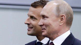 Macron veut ancrer  la Russie en Europe