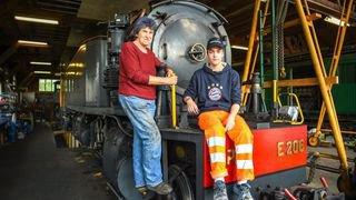 A 17 et 76 ans, ces Jurassiens partagent une même passion pour les trains