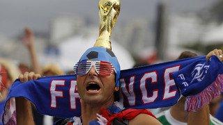 Coupe du monde 2018: les supporters croates et français en images