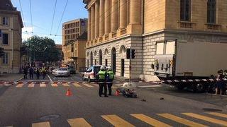 Le centre-ville de Neuchâtel fermé à la circulation à cause d'un grave accident