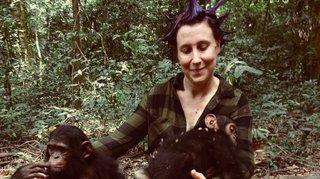 Cressier: amoureuse des chimpanzés, elle s'occupe des orphelins