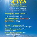 """EVOS - """"Notes de voyage"""""""