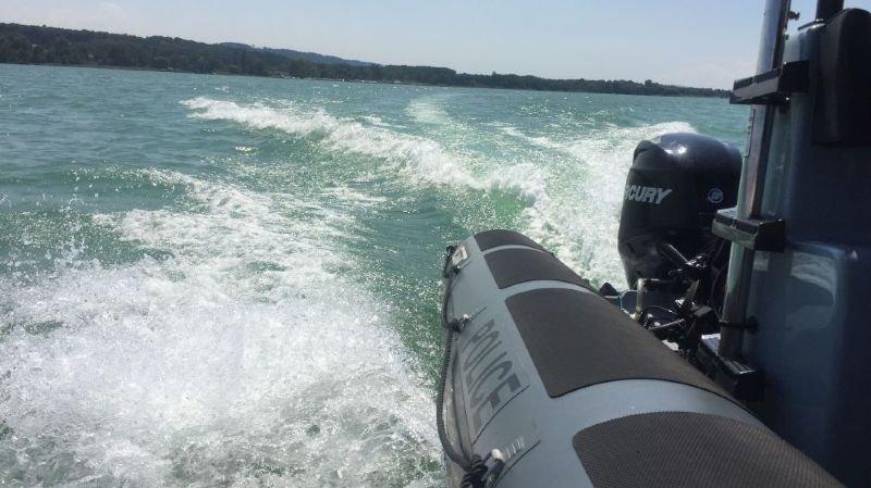 La police procédera à des contrôles radar sur le lac de Neuchâtel
