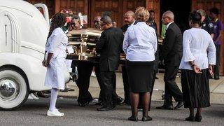 Etats-Unis: funérailles d'Aretha Franklin à Détroit et hommage à John McCain à Washington