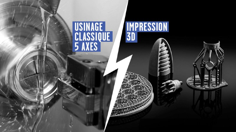 Machine-outil contre impression 3D: le match qui fait trembler l'Arc jurassien