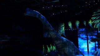 "Spectacle ""Walking with Dinosaurs"" à Genève: des dinosaures grandeur nature"