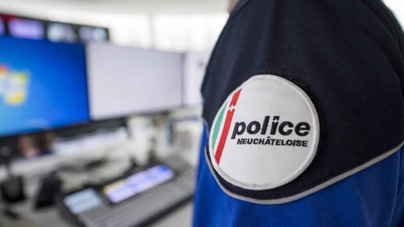 Neuchâtel: voiture emboutie dans le parking du Seyon