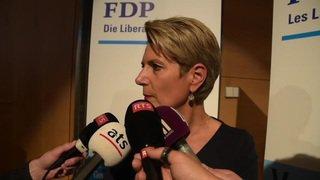 Succession Schneider-Ammann: Karin Keller-Sutter candidate