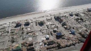 Images aériennes des dégâts causés par l'ouragan Michael