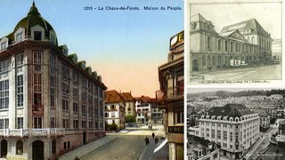 Etude d'archives sur la Maison du peuple de La Chaux-de-Fonds, de son âge d'or au déclin