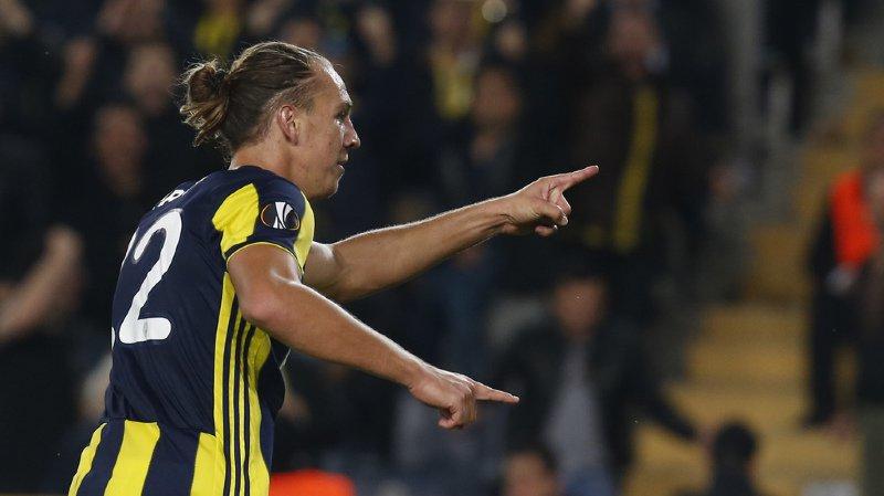L'attaquant suisse Michael Frey a inscrit jeudi soir le deuxième but de son équipe face à Anderlecht.