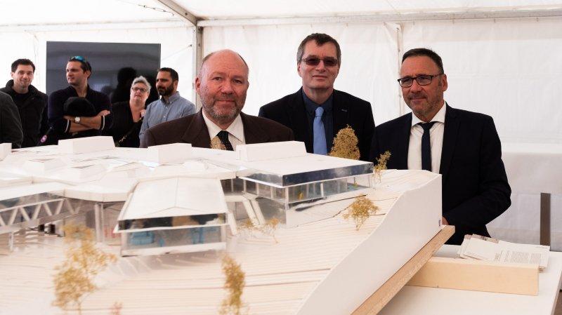 La manufacture d'horlogerie Audemars Piguet s'étend au Locle