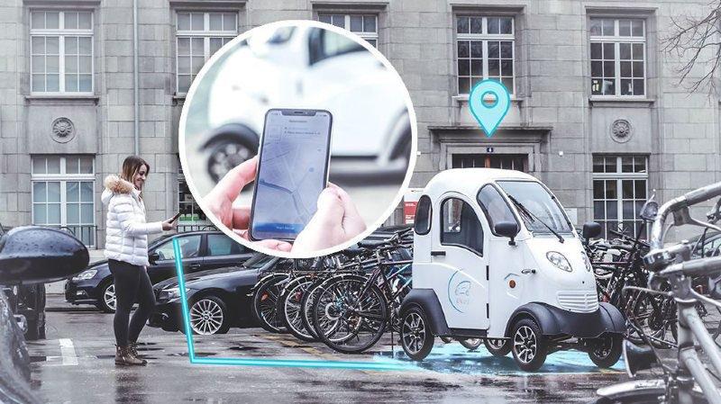 Les voiturettes électriques partagées lancées à Bienne