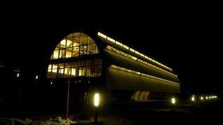 L'éclairage nocturne a baissé d'intensité sur le site d'Evologia à Cernier