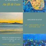 Exposition Au fil de l'eau - Adelheid Kuenzi