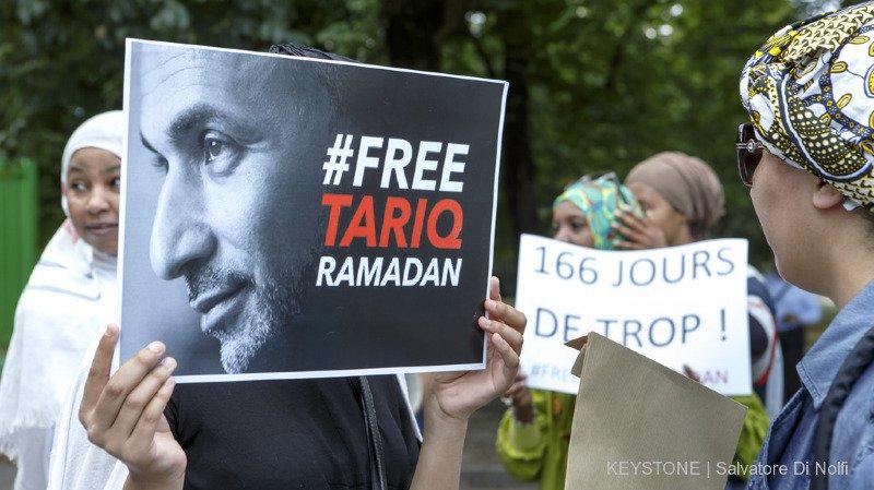 Harcèlement sexuel: placé sous contrôle judiciaire, Tariq Ramadan a quitté sa prison parisienne