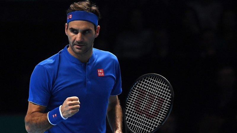 Tennis - Masters de Londres: Federer bat Anderson en deux sets et se qualifie pour les demi-finales
