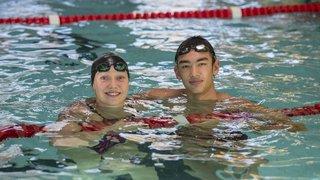 Double première en petit bassin pour Lucas Schweingruber et Zélie Stauffer