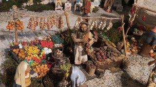 La crèche de Noël au temple des Eplatures à La Chaux-de-Fonds