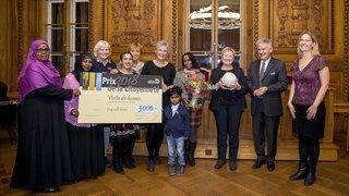 L'association Recif reçoit le Prix de la citoyenneté de la Ville de Neuchâtel