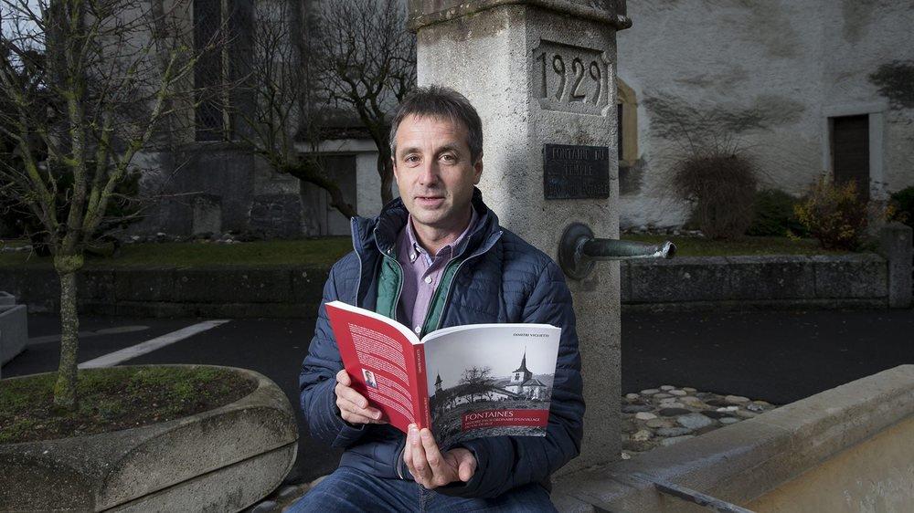 Originaire du Jura bernois, Dimitri Viglietti a débarqué à Fontaines en 2013. Une année plus tard, il s'est lancé dans l'écriture de l'ouvrage.