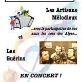 Concert Artisans Mélodieux et Guérin