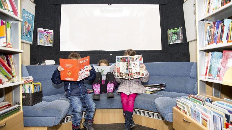 Les bibliothèques fixes ont primé sur le Bibliobus à Val-de-Ruz