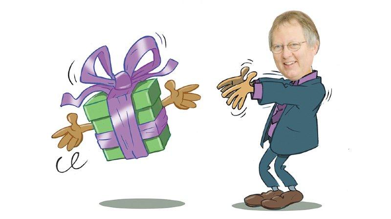 C'est cadeau: un agenda pour Roland Matti