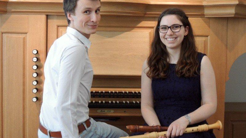 Concert Flûtes à bec et Orgue