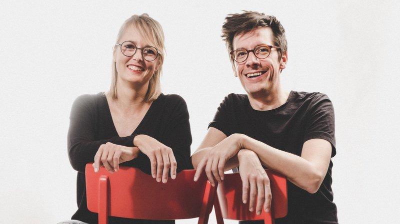 Muriel Schindler et Gaëtan Girardin, les deux cofondateurs de Cap'Smala.