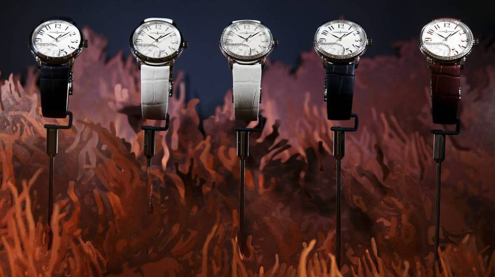 Les montres Ulysse Nardin lors du SIHH 2018.