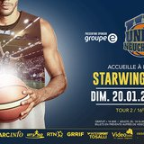 16ème journée de championnat de LNAM de basket