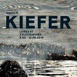 Vernissage Anselm Kiefer   Livres et xylographies