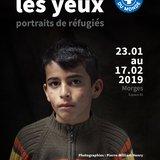 Dans les yeux. Portraits de réfugiés