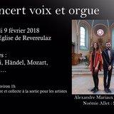 Concert voix et orgue