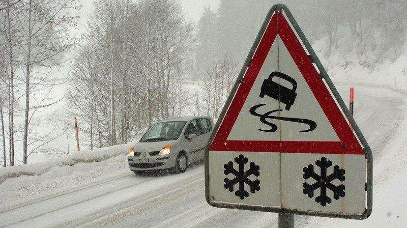 Le premier gros épisode neigeux a causé quelques accidents.