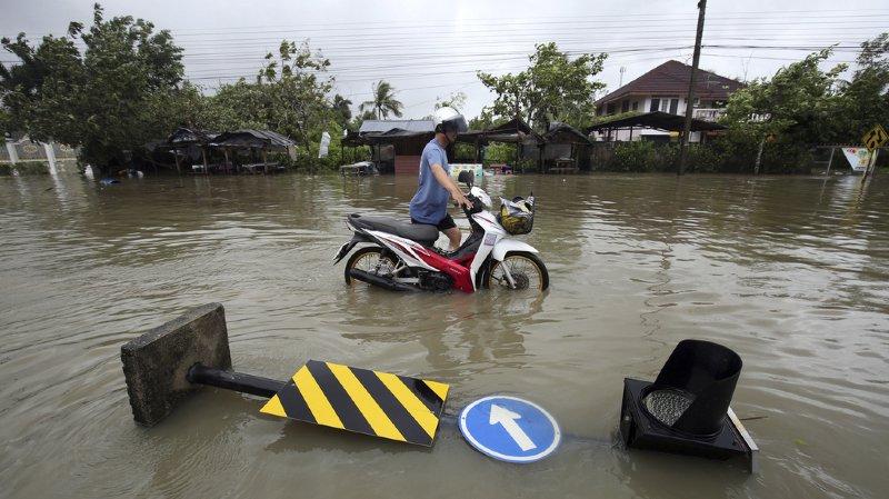 Thaïlande: la tempête Pabuk a provoqué inondations et pannes de courant, 30 000 personnes évacuées