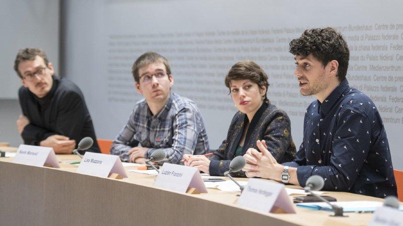 Votation fédérale: les Jeunes Verts lancent leur campagne pour stopper le mitage