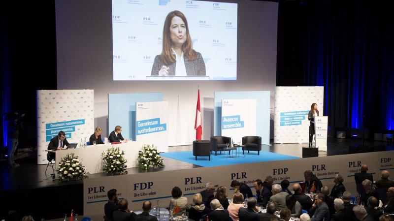 «En 2019, nous allons monter sur le ring, prêts à prouver que les forces conservatrices et socialistes veulent diviser notre pays», a affirmé la présidente du PLR Petra Gössi.
