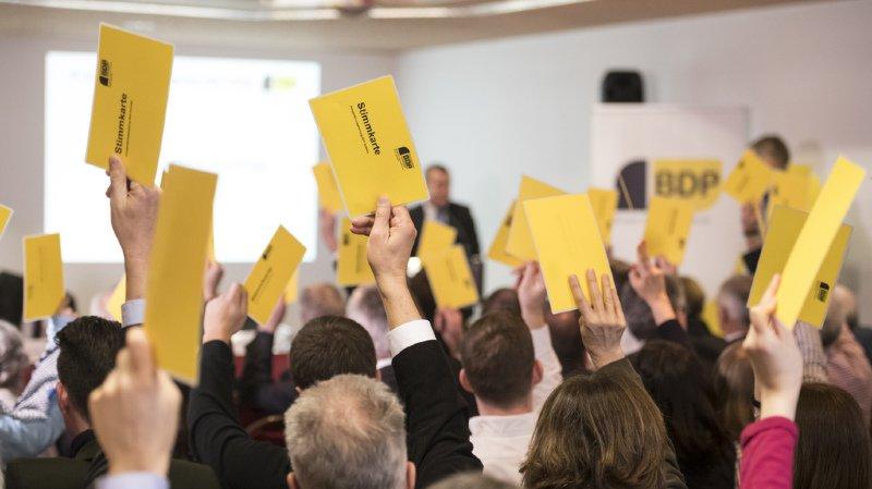 Les délégués du PBD ont «clairement» recommandé de rejeter l'initiative des Jeunes Verts contre le mitage.