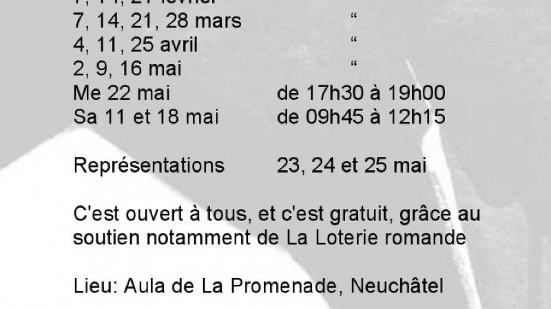 Portes ouvertes 2019 du Chœur Parlé de Neuchâtel
